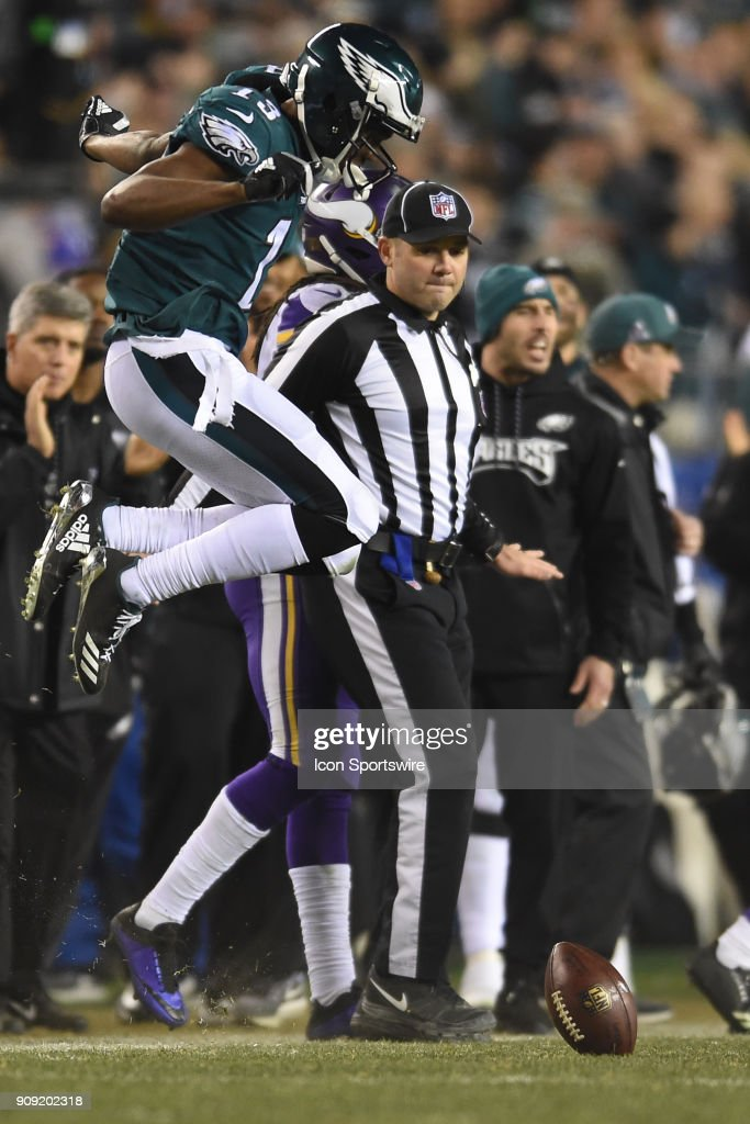 NFL: JAN 21 NFC Championship Game - Vikings at Eagles : ニュース写真