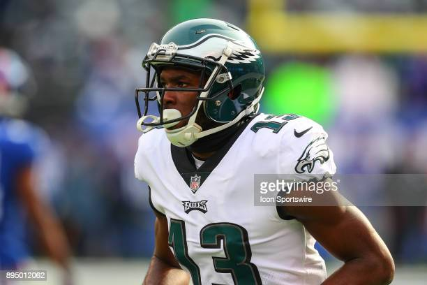 Philadelphia Eagles wide receiver Nelson Agholor prior to the National Football League game between the New York Giants and the Philadelphia Eagles...