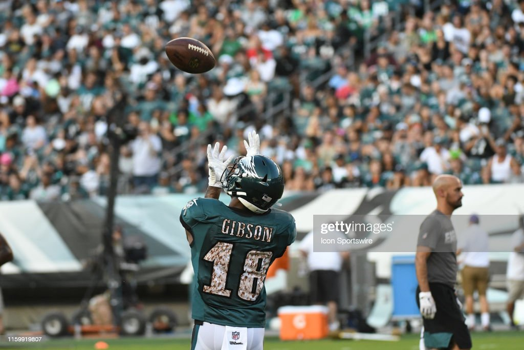 NFL: AUG 04 Eagles Training Camp : News Photo