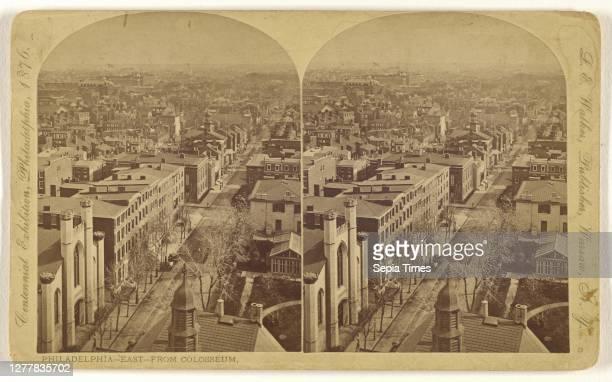 Philadelphia - East - From Colosseum; L. E. Walker ; about 1870; Albumen silver print.