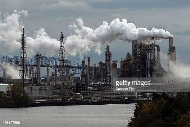 Philadelphia Energy Solutions is seen October 24 2014 in Philadelphia Pennsylvania Philadelphia Energy Solutions processes 330000 barrels of crude...