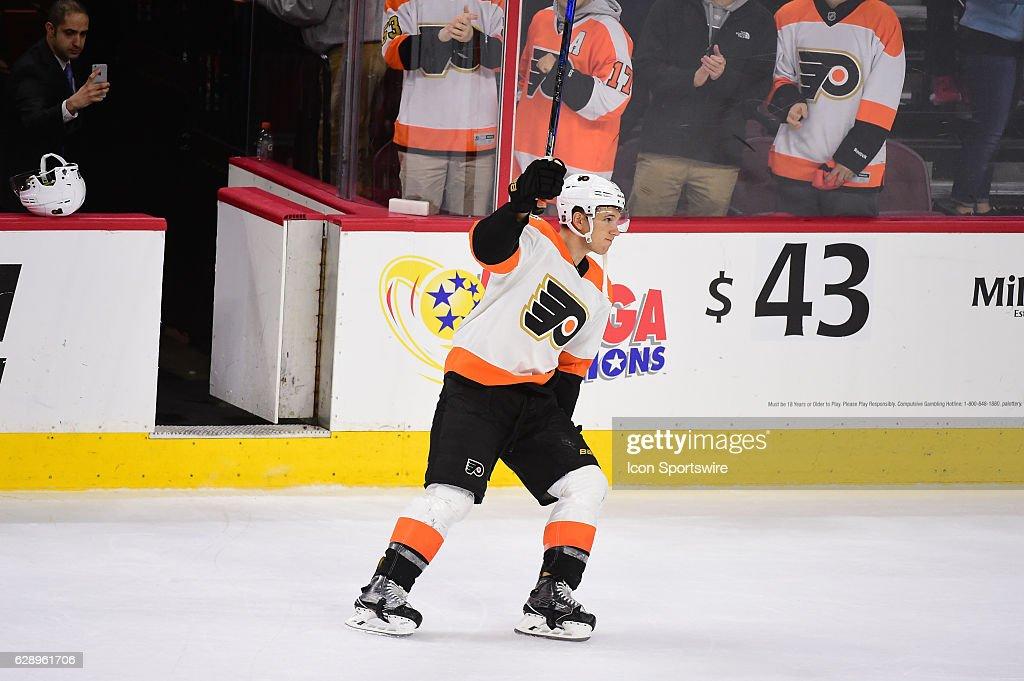 NHL: DEC 10 Stars at Flyers : News Photo