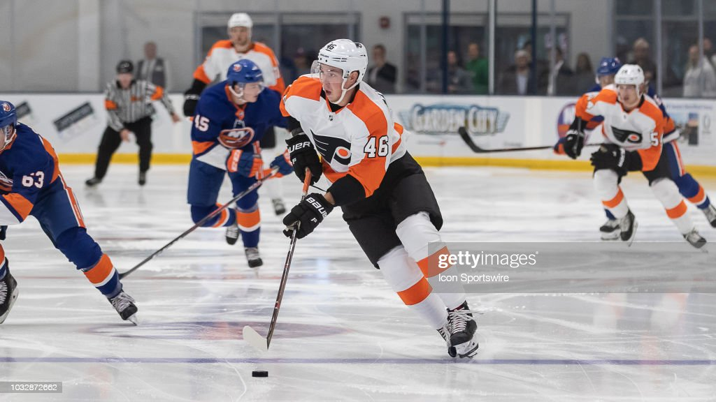 NHL: SEP 12 Preseason - Flyers Rookies at Islanders Rookies : News Photo