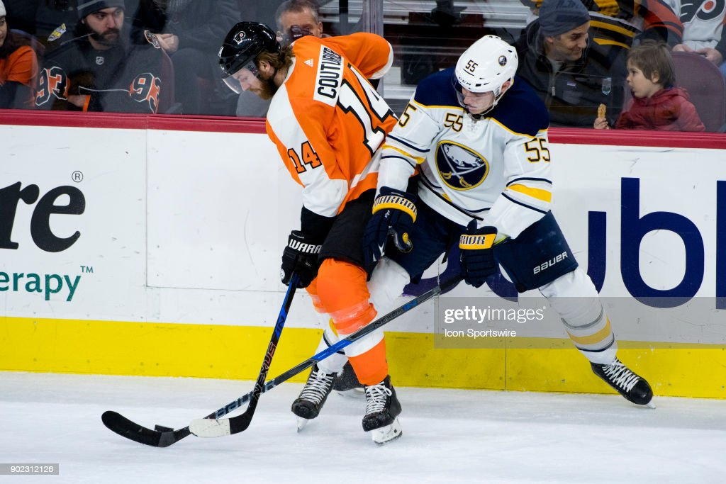 NHL: JAN 07 Sabres at Flyers : News Photo