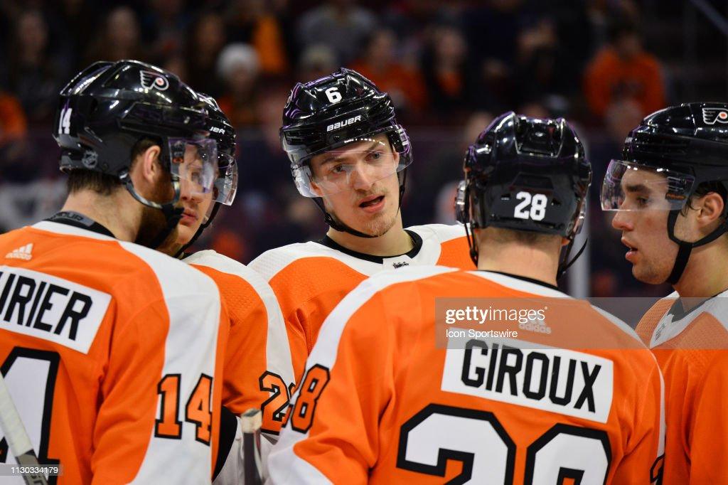 NHL: MAR 11 Senators at Flyers : News Photo