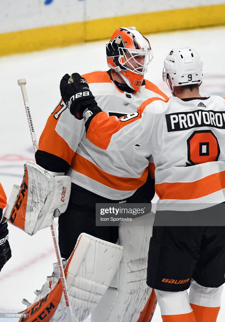 NHL: OCT 30 Flyers at Ducks : News Photo