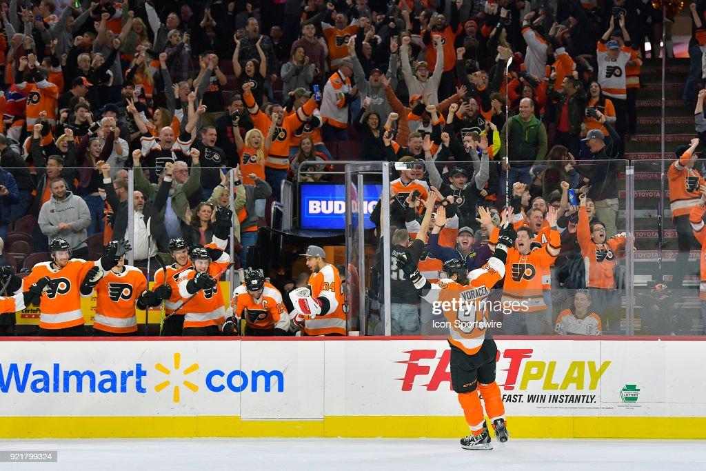 NHL: FEB 20 Canadiens at Flyers : News Photo