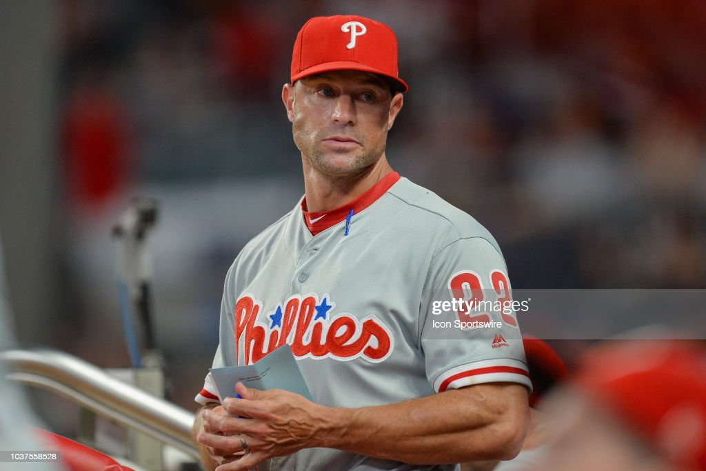 MLB: SEP 21 Phillies at Braves : News Photo