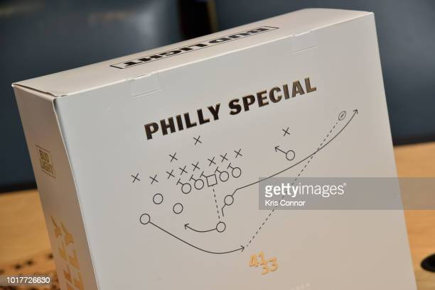 Philadelphia Mayor Jim Kenney was among the first to receive Bud Lights Philly Philly Commemorative Super Bowl LII Pack at City Hall on Thursday...
