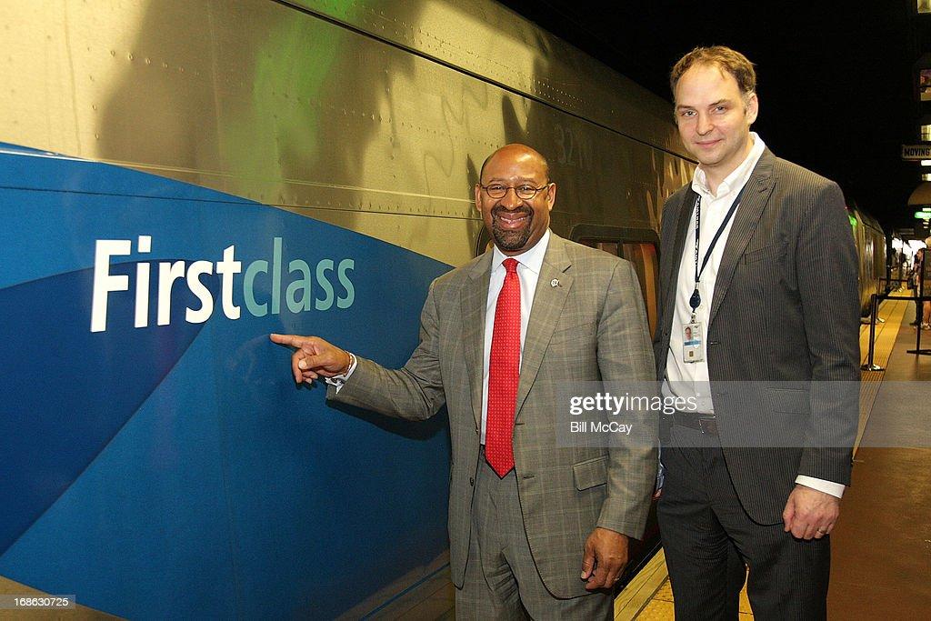 Amtrak National Train Day 2013 - Philadelphia, PA