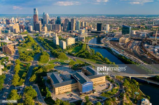 Philadelphia Museum of Art and the Schuylkill River
