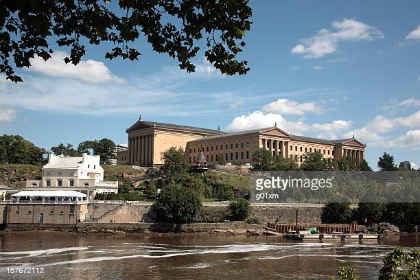 Philadelphia Museum of Art by Schuylkill River