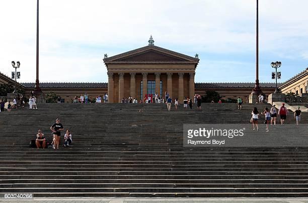 Philadelphia Museum Of Art in Philadelphia Pennsylvania on August 27 2016