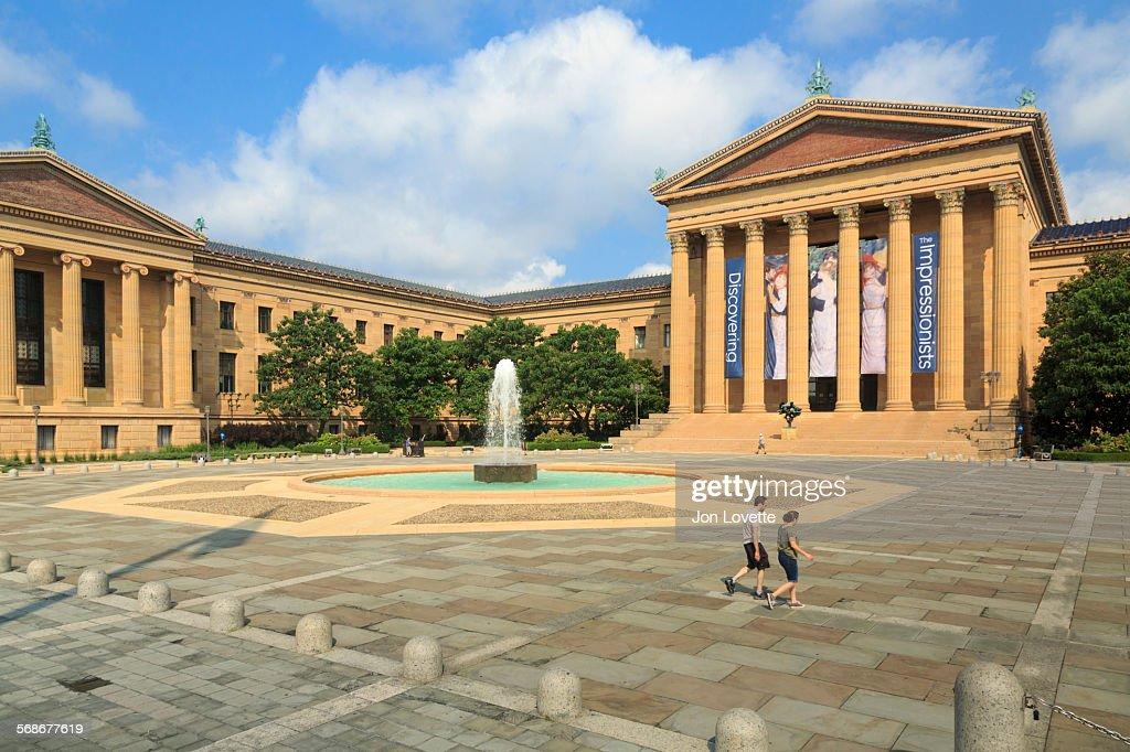 Philadelphia Museum of Art : Stock Photo