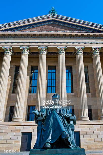 Philadelphia Museum of Art Statue of John Marshall
