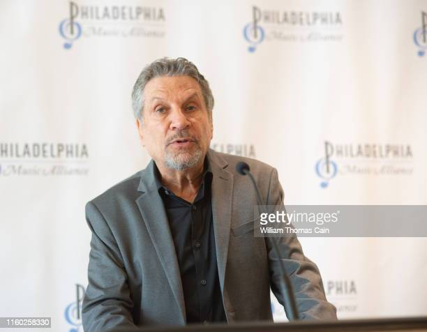 Philadelphia Music Alliance chairman Alan Rubens announces the 2019 Philadelphia Music Alliance Walk of Fame nominees at Independence Visitor Center...