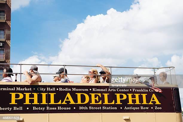 Philadelphia Open Top Bus