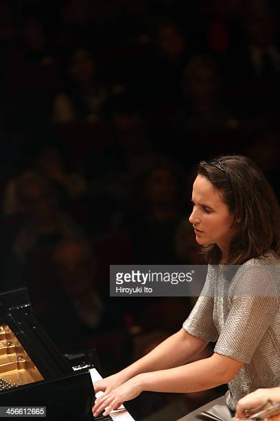 Philadelphia Orchestra performing at Carnegie Hall on Friday night December 6 2013This imageHelene Grimaud performing Brahms's Piano Concerto No 1 in...