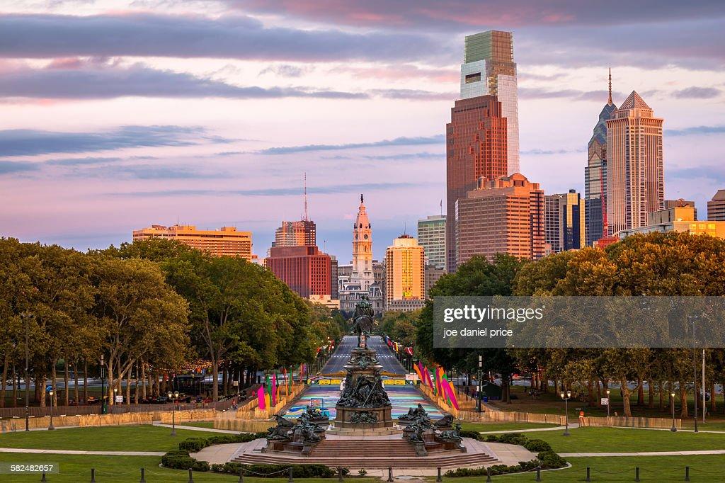 Philadelphia, Pennsylvania, America : Stock Photo
