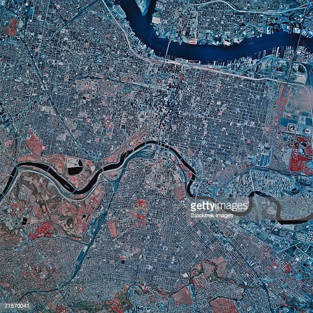 'Philadelphia, Pennsylvania, satellite image'