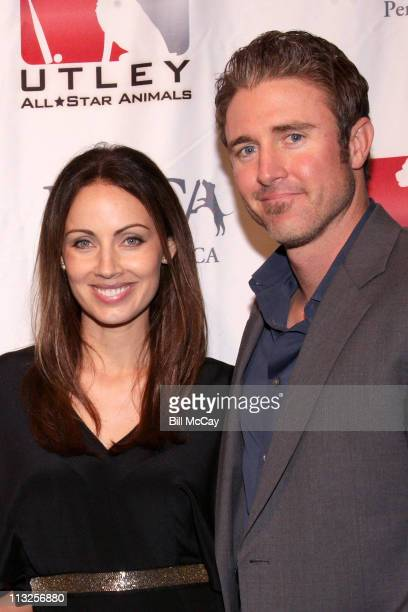 Philadelphia Phillies Chase Utley and his wife Jennifer Utley attend The 4th Annual Utley AllStar Animals Casino Night to help raise funds for the...