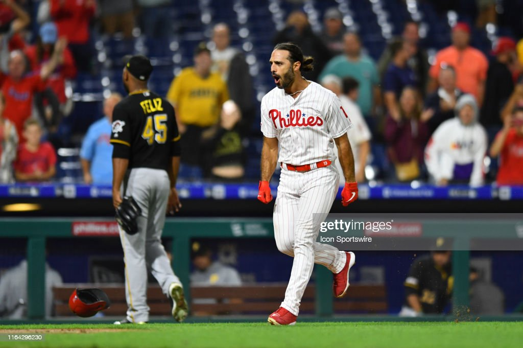 MLB: AUG 26 Pirates at Phillies : News Photo