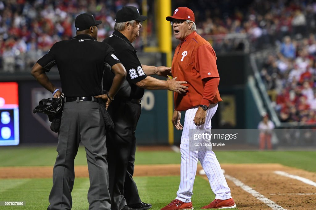 MLB: APR 10 Mets at Phillies : News Photo