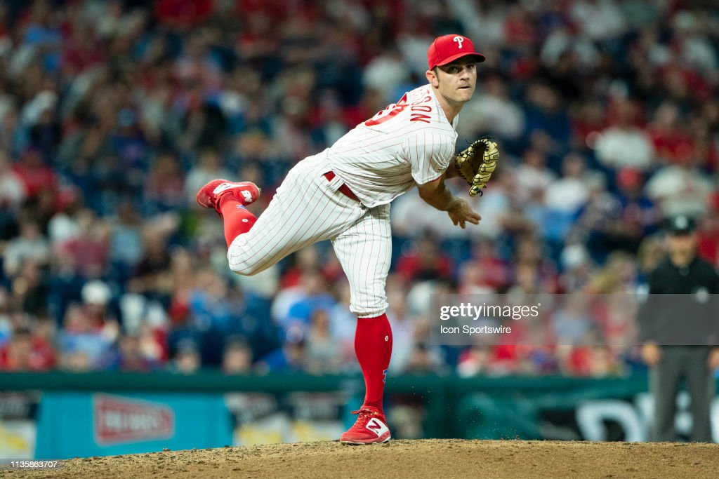 MLB: APR 08 Nationals at Phillies : News Photo