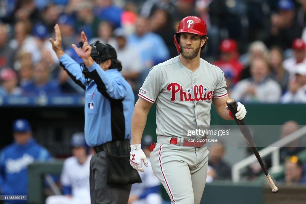 MLB: MAY 11 Phillies at Royals : News Photo