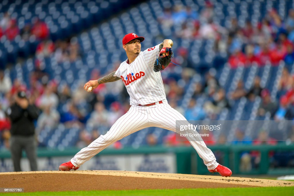 MLB: MAY 22 Braves at Phillies : News Photo