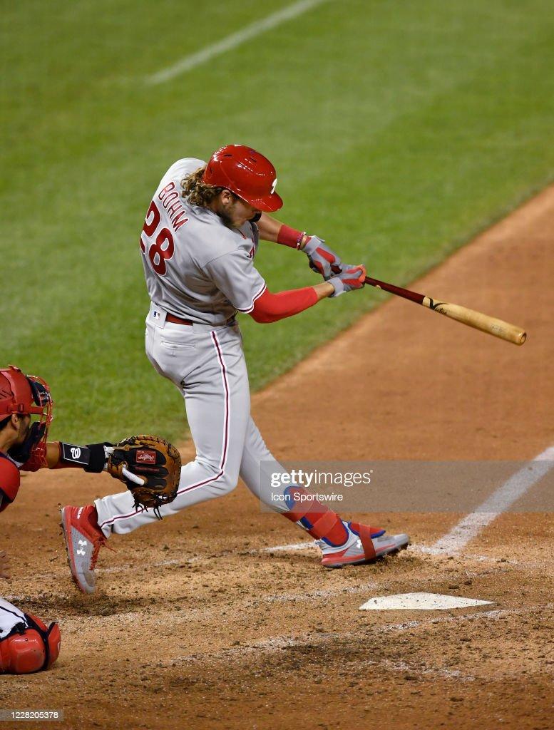 MLB: AUG 25 Phillies at Nationals : News Photo
