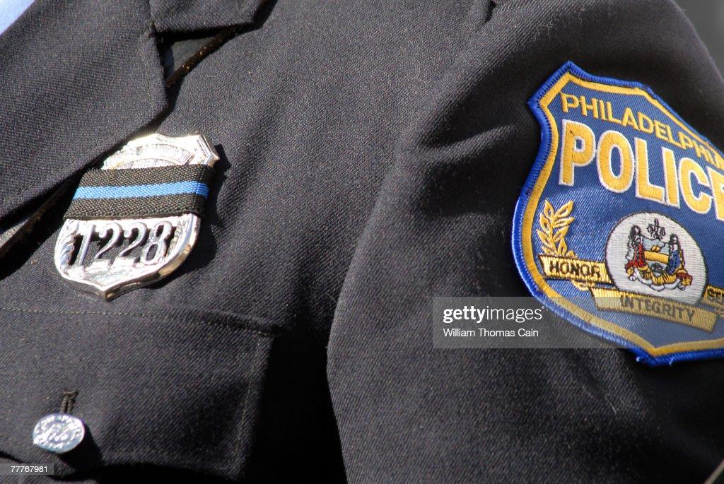 Philadelphia Mourns Police Officer Killed In Line Of Duty : News Photo