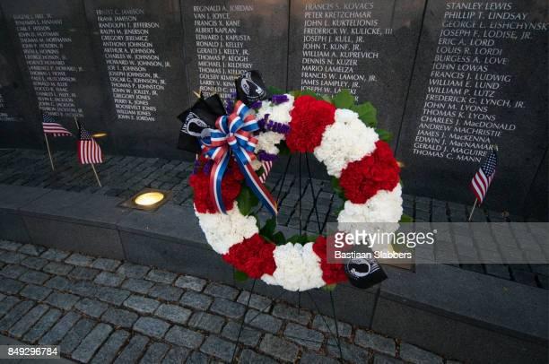 philadelphia pow/mia memorial ceremony - basslabbers, bastiaan slabbers stock pictures, royalty-free photos & images