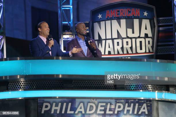 WARRIOR 'Philadelphia Qualifiers' Episode 1005 Pictured Matt Iseman Akbar Gbajabiamila