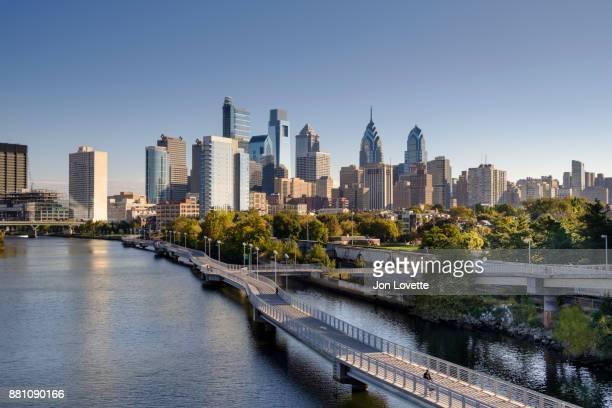Philadelphia Skyline over Schuylkill River