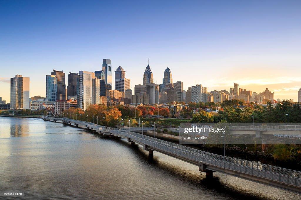 Philadelphia Skyline : Stock Photo