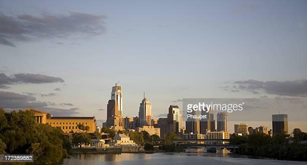 Blick auf die Skyline von Philadelphia