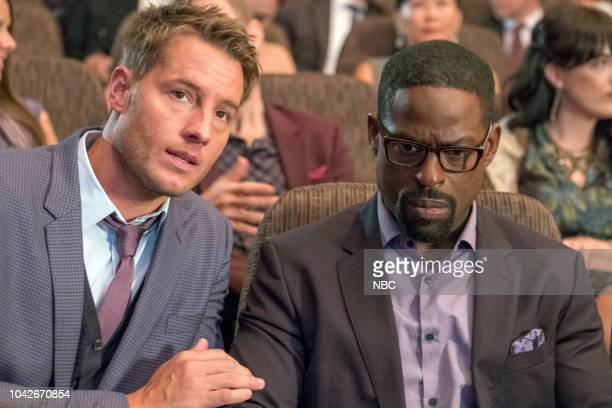 US A Philadelphia Story Episode 302 Pictured Justin Hartley as Kevin Pearson Sterling K Brown as Randall Pearson