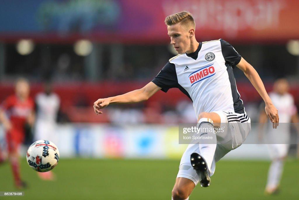 SOCCER: OCT 15 MLS - Philadelphia Union at Chicago Fire : News Photo