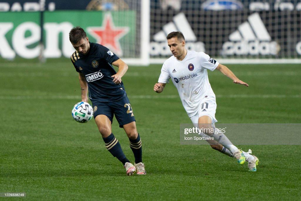 SOCCER: OCT 28 MLS - Chicago Fire FC at Philadelphia Union : News Photo