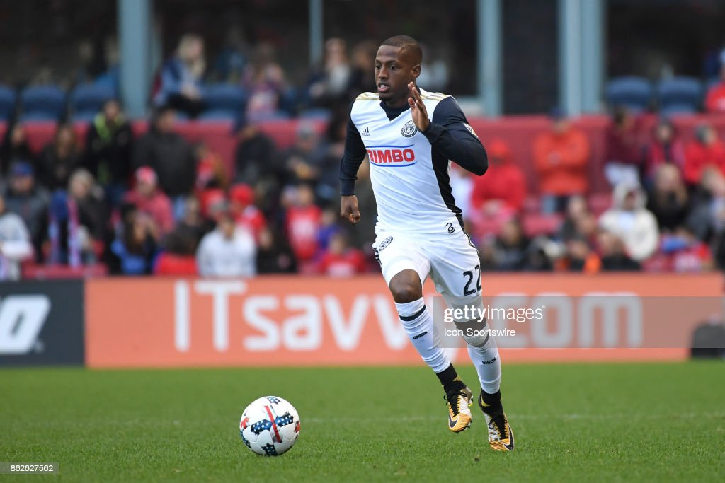 SOCCER: OCT 15 MLS - Philadelphia Union at Chicago Fire : News Photo