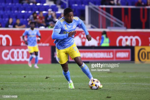 Philadelphia Union forward Sergio Santos during the second half of the Major League Soccer game between the New York Red Bulls and the Philadelphia...