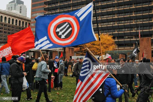 Philadelphians Rally Strong Against Far Right Extremists Groups Rallying on November 17 2018 Philadelphians Rallied at the Constitution Center to...