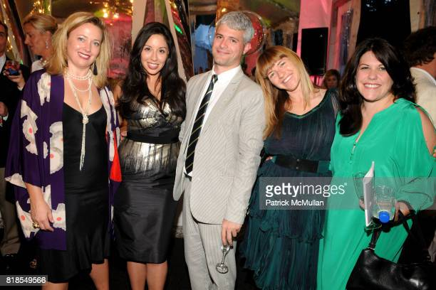 Philae Knight, Veronica Fernandez, Peter Eleey, Heather Harmon and Catherine Taft attend ASPEN ART MUSEUM hosts artCRUSH 2010 at Aspen Art Museum on...