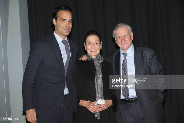Philanthropist Andres Santo Domingo philanthropist Beatrice Santo Domingo and Director of Mount Sinai Heart and PhysicianinChief of The Mount Sinai...