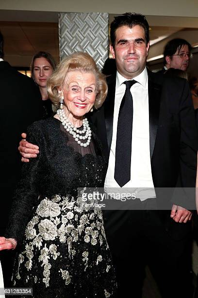 Philanthropist Barbara Davis and Jason Davis attend HBO's Official Golden Globe Awards After Party at Circa 55 Restaurant on January 8 2017 in...