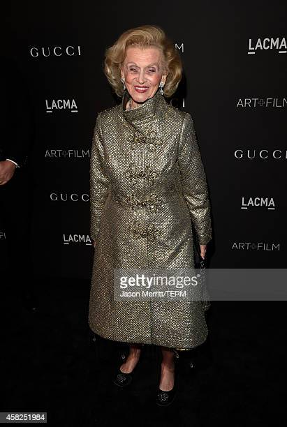 Philanthropist Barbara Davis attends the 2014 LACMA Art Film Gala honoring Barbara Kruger and Quentin Tarantino presented by Gucci at LACMA on...