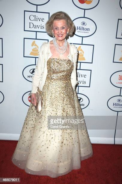 Philanthropist Barbara Davis attends the 56th annual GRAMMY Awards PreGRAMMY Gala and Salute to Industry Icons honoring Lucian Grainge at The Beverly...