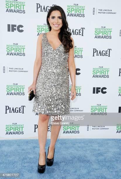 Philanthropist Caren Brooks attends the 2014 Film Independent Spirit Awards at Santa Monica Beach on March 1 2014 in Santa Monica California