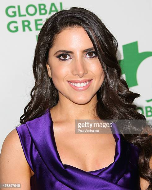 Philanthropist Caren Brooks attends the Global Green USA's 11th annual preOscar party at Avalon on February 26 2014 in Hollywood California